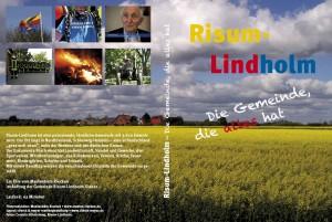 """DVD-Inlay """"Risum-Lindholm – Die Gemeinde, die alles hat"""""""